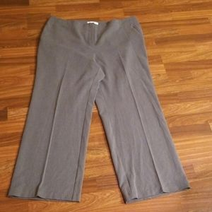 Gray Chico's Trousers Sz. 16